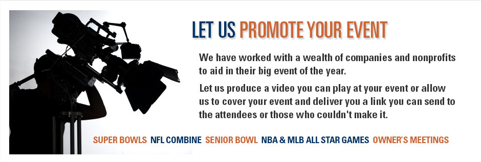 Let us Promote your Event